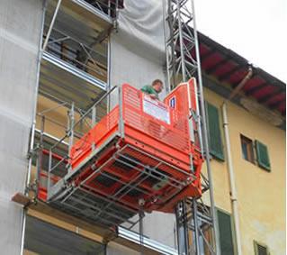 Betti rent agente esclusivo alimak per la toscana for Montacarichi da balcone per legna